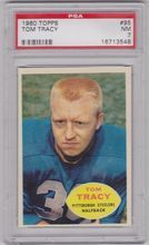 1960 Topps Football #95 Tom Tracy Pittsburgh Steelers PSA 7