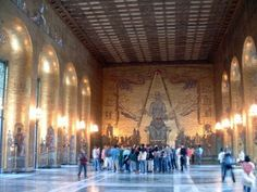 Golden Hall of Stockholm's City Hall