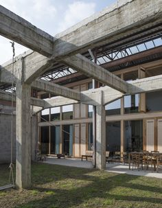GAFPA > Reconversion Industrial site to a House | HIC Arquitectura