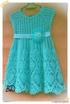 Creative Contents about DIY & Crafts, Knitting, Hairstyles, Beauty and more - Diy Crafts Crochet Dress Girl Diy Crafts Crochet Dress Girl, Crochet Girls, Crochet Baby Clothes, Crochet For Kids, Baby Knitting Patterns, Knitting Designs, Pink Toddler Dress, Vestidos Bebe Crochet, Robes Tutu