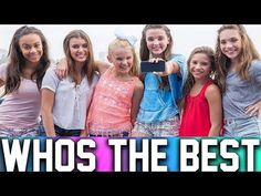 THE DANCE MOMS GIRLS SINGING WITHOUT AUTOTUNE! - YouTube
