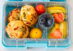 Kids Packed Lunch, Snack Recipes, Healthy Recipes, Mini Muffins, Bento Box, Spices, Food And Drink, Breakfast, 4 Kids