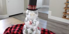 We're melting over this crafty snowman.