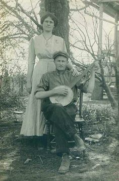 Appalachian banjo player and companion.