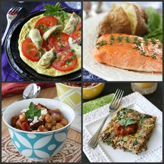 , Tomato & Basil Baked Trout (or Salmon) with Honey-Thyme Glaze Baked ...
