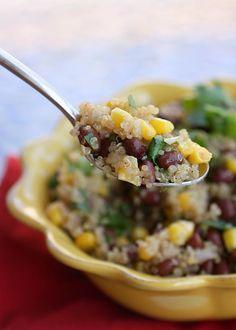 Vegan Quinoa and Black Beans