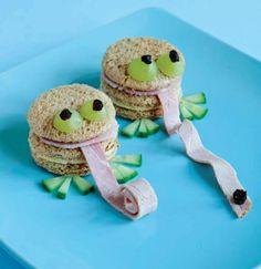 Frog Sandwiches @Emily Schoenfeld Schoenfeld Schoenfeld Ritchie ... squeel @Laura Jayson Jayson Dietrich