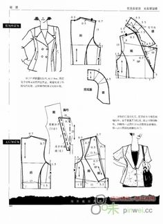This is not in English, but great illustrations that give me ideas of how to alter a sleeve or neckline!