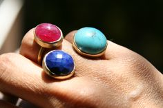 #tourquoise #ring combination.