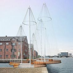 Olafur Eliasson, Cirkelbroen (the circle bridge), construction is due to be completed in 2012
