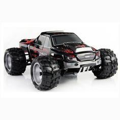 ¿Te encantan las alturas? !El Monster Truck de Vortex puede ser tu mejor opción! Increíble tracción de 4 ruedas Más de 50 km/h Cargador incluido