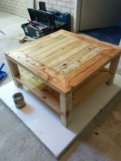 Picture of Pallet table (UPDATE!!) DIY Instructions