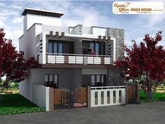 3 Bedrooms Duplex House Design In X This Is A Beautiful Three Bedrooms Duplex  House Design. Ground Floor  One Bedroom Attached With Dress U0026 Toilets, ...