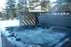 Exceptional Reserve Your Cabin In Estes Park With Valhalla Resort. Cabin 22 Is A 2  Bedroom With Wood Burning Brick Fireplace, Private Hot Tub Off Deck.