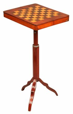 I want to do the chess board on a trunk and use use for table or game table