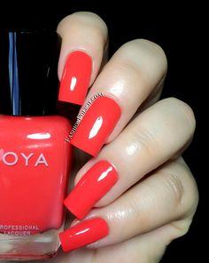 Fashion Polish: Zoya Summer 2014 Tickled collection Rocha