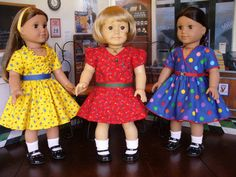 Doll+Clothes+Patterns+At+the+Soda+Shoppe++No+1021+by+medwelch,+$13.00
