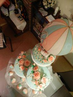 hot air balloon baby shower cake | ... Cake (Hot Air Balloon Motiv) - Cake Decorating Community - Cakes We