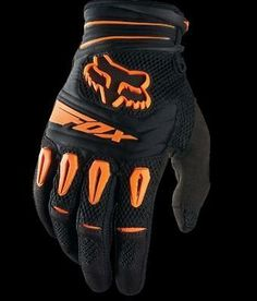 Fox Racing Pawtector Glove dirt bike motocross gear orange new sizes M / L/ 2XL