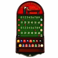 RAM Gameroom Products Billiard Parlour Scoreboard Counter and Ball Holder * More info could be found at the image url. Note:It is Affiliate Link to Amazon.