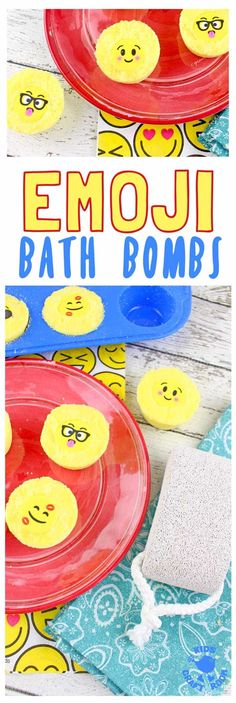 Emoji Bath Bombs make bath time fun! Homemade bath bombs are easy to make and bring a smile and a giggle to bath time. They're great as homemade gifts for kids to make too! Wine Bottle Crafts, Mason Jar Crafts, Mason Jar Diy, Diy Home Decor Projects, Diy Projects To Try, Art Projects, Cool Diy, Homemade Bath Bombs, Diy Hanging Shelves