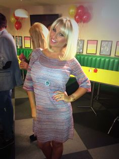 Billie Faiers.. Osment dress from Minnie's Boutique..