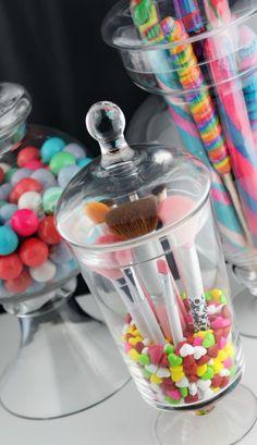 Belle Candy Makeup Brush Jar 02