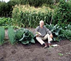 Steve Solomons garden soil and crops show the effects of steady applications of his homemade organic fertilizer.