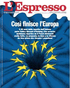 La copertina dell'Espresso in edicola da domenica 19 marzo