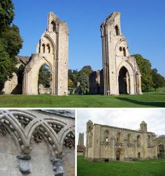Glastonbury Abbey was already more than 350 years old when William the Conqueror won the Battle of Hastings and by 1186 was the richest abbey in the realm. King Arthur and Queen Guinevere were said to be buried in a place of honor before the church altar.