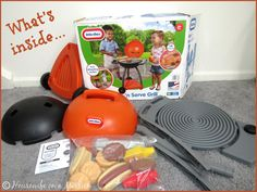 Housewife on a Mission: Little Tikes Sizzle 'n Serve Grill | Review + A Giveaway
