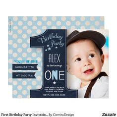 First Birthday Party Invitation Boy Chalkboard Cartita design ©2016 All Rights Reserved. Feel free to change or add text! You can follow my work at: www.facebook.com/Cartita.Design. I Hope you enjoy my illustrations! Look for more items in my store!