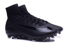 Soccer Nike Mercurial Superfly V FG Junior Soccer Cleat Black/Black/Black https://twitter.com/faefmgianm/status/895094820015751168