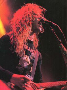 ~James Hetfield 1986~