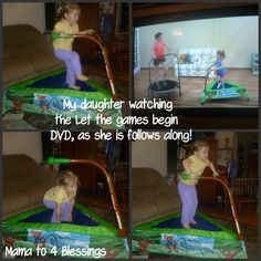 Mama to 4 Blessings - Our Homeschool Blog: JUMP SPORT iBOUNCE TRAMPOLINE REVIEW & GIVEAWAY