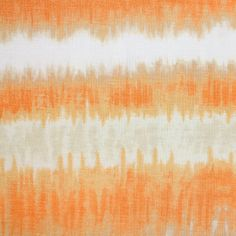 Orange Gold Tie Dye Cotton Spandex Blend Knit Fabric - Lovely warm colors of oranges and golds tie dye print on a white cotton spandex blend knit. Fabric has a nice drape and good 4 way stretch, lighter weight.  Widest tie dye stripe measures 4 1/2 (see image for scale).  ::  $6.25
