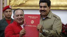 Venezuela's National Assembly has given final approval to special powers for President Nicolas Maduro. Under the measures Mr Maduro will be able to govern without consulting Congress for 12 months.  (What!?)