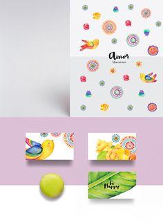 "Concept: ""Life is Sweet"" Macarons — The Dieline - Branding & Packaging"