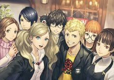 Persona 5. My babies :'D