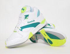#Reebok Pump Court Victory - Citron #sneakers