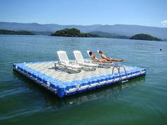 Swimming Platforms - Dock Blocks of North America