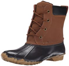Western Chief Women's Four Eye Duck Snow Boot, Brown, 6 M US -- Continue to the product at the image link.