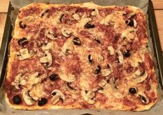 Pizza mit Siegfried-Teig Banana Bread, Desserts, Food, Cupcakes, Inspiration, Cooking, Tailgate Desserts, Biblical Inspiration, Deserts
