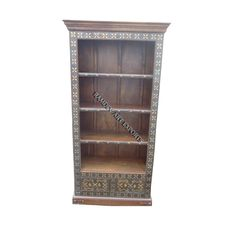 Cart Bookshelf With Drawers Item Code : RD-BK 09-1 Item Size : 90X38X1823