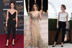 Emma Watson's Best Outfits from the 'Beauty and the Beast' Promo Tour - Emma Watson's Stunning Sustainable Fashion from the 'Beauty and the Beast' Promo Tour - Photos