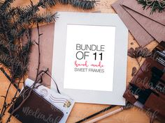 Hey this #mockup bundle is free through 3/6/16 at Creative Market! Bundle of 11 Sweet Frames by MediaLab on @creativemarket