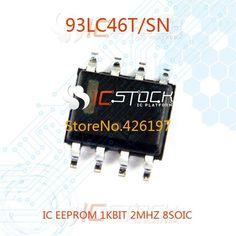 Дешевое 93LC46T / с . н . IC EEPROM 1KBIT 2 мГц 8SOIC 93LC46T 10 шт., Купить Качество Интегральные схемы непосредственно из китайских фирмах-поставщиках:  IRFPC60 MOSFET N-CH 600V 16A TO-247AC 1pcsUS $ 11.80/pieceIRFIBC40GLC MOSFET N-CH 600V 3.5A TO220FP 1pcsUS $ 6.27/piece