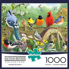 Hautman Brothers 1000 Piece Jigsaw Puzzle Buffalo Games Americas Heartland