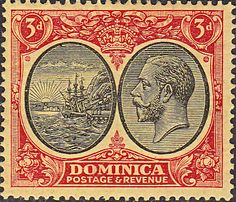 Dominica 1923 King George V SG 75 Fine Used Scott 69 Other Dominica Stamps HERE