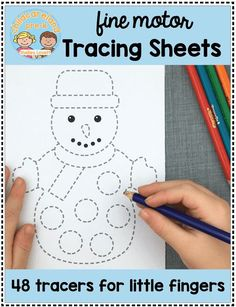 Fine motor tracing sheets now available in my download store. Grab the holiday tree tracer for free!!